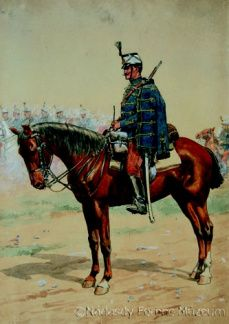 The life of colonel OttmĂĄr Muhr, the hero of Limanowa is closely linked with the NĂĄdasdy Hussar Regiment. Military Art, Military History, Hungary History, Austrian Empire, German Uniforms, Austro Hungarian, Men In Uniform, Napoleonic Wars, World War I