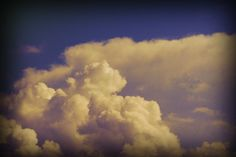 Clouds for a Great Day 4x6 Metallic Print by GallivantingGirl, Julia Wright