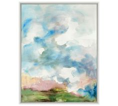 April Showers Framed Print by Laura Craig