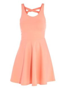 Coral Skater Dress | Fashion | Pinterest | Home, Coral and Coral dress