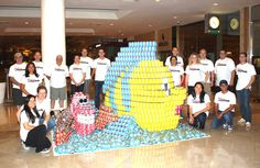 """SEA the Difference a CAN Makes? Disney VoluntEARS Participate in CANstruction Competition"""