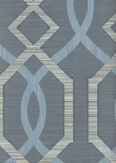 fibra galerie wallpaper - a luxury heavy weight vinyl wallpaper in shades of rich blue and beige