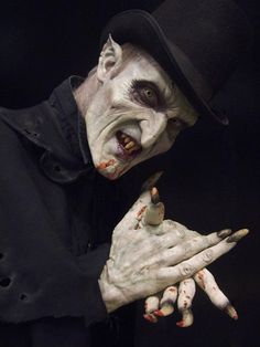19th Century Vampire - Cinema Makeup