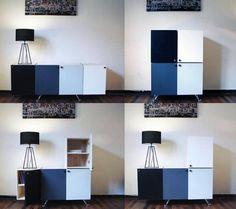 Muebles que ahorran espacio / Elemento diseño