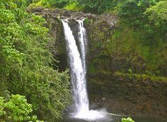 Rainbow Falls on the Wailuku River, Hilo Hawaii: Photo by Donnie MacGowan