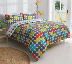 The Abacus quilt cover set is one the designs in the new 'Esk' manchester range created exclusively for Fantastic Furniture by KAS Australia. Double $59, Queen $69, King $79. Double Quilt, Quilt Cover Sets, Bedroom Sets, Bedroom Furniture, Manchester, Mattress, Comforters, Range, Australia