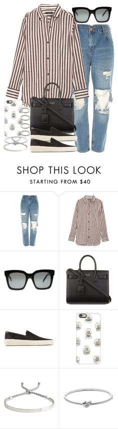 """""""Sin título #4041"""" by hellomissapple on Polyvore featuring moda, River Island, Isabel Marant, Yves Saint Laurent, Casetify, Monica Vinader, Michael Kors y Forever 21"""