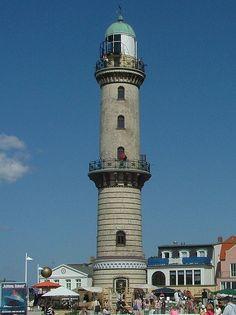 Warnemunde lighthouse, Germany