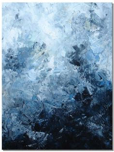 ELENA large abstract painting textured painting by ElenasArtStudio #artpainting
