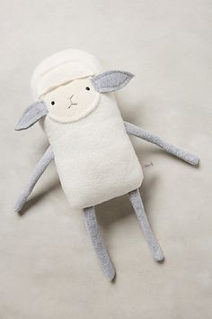 little stuffed lamb for baby