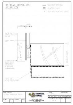 Please find below example standard glazing details used by Oak Frame Glazing