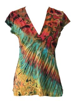 Tie-dye dames t-shirt M (USG-03)