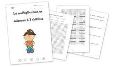 Dossier maths 6P - la multiplication en colonnes à 2 chiffres Multiplication, Words, Education, Aide, Reading, Montessori, School Stuff, Names, Math Class