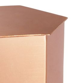 Check this out! Hexagonal metal box with a lid. Height 1 1/2 in., diameter approx. 2 3/4 in. - Visit hm.com to see more.