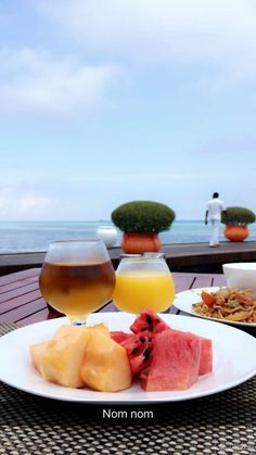 Maldives Lookbook- Breakfasts with a view: