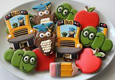 Incredibly cute back-to-school cookies!
