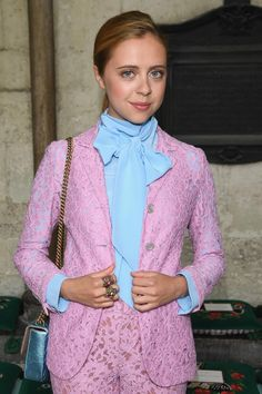 Bel Powley Is a Front Row Breakout Beauty Star at the Gucci Resort 2017 Show - June 2, 2016