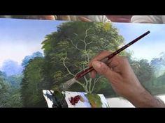 Dica para pintar árvores - YouTube                                                                                                                                                                                 Mais