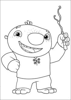 Wallykazam Coloring Pages 12