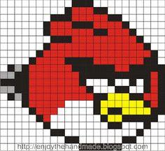 Angry Birds hama perler pattern - Enjoy the HandMade