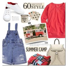 """Summer Camp with Yoins"" by mada-malureanu ❤ liked on Polyvore featuring J.Crew, Dot & Bo, summercamp, 60secondstyle, yoins, yoinscollection and loveyoins"