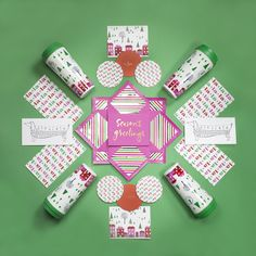 kate spade new york holiday stationery