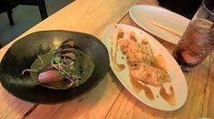 Miss Jappa, Principe Real, As gyozas estavam muito bem feitas, o Salmão era muito bom, mas dispensava o molho de agrião e wasabi