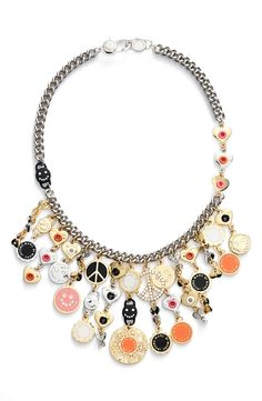The perfect gift for a Marc Jacobs fan | Marc Jacobs frontal necklace.