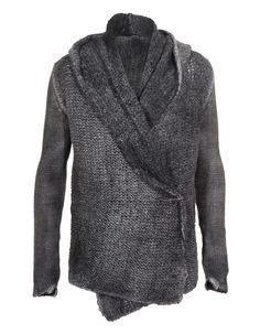 AVANT TOI Chunk Grey Chunky knit cardigan