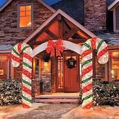 0048 Adorable Christmas Oudoor Decorations Ideas