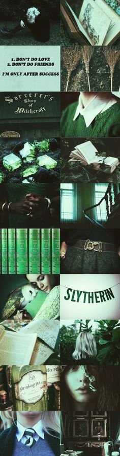 Slytherin Aesthetic》》Slytherins are really great, I think. One of my best friends is a Slytherin and she's one of the most delightful people I've ever met. Stop the stereotypes about the houses.