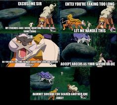 Lord Arceus Can Save You