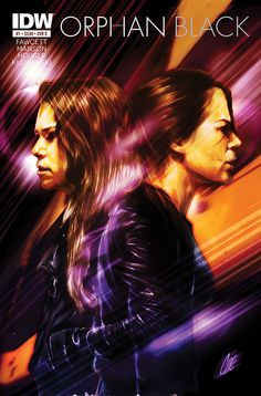 Official Orphan Black comic book