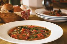 Hearty Spinach and Bean Soup
