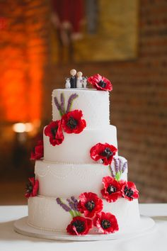Eclectic Lavender and Red Wedding (Best Wedding and Engagement Rings at www.brilliance.com)