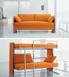 1. Sofa Bunk Bed | Space Saving Ideas For Your Studio Apartment