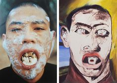 Homage to Francesco Clemente, or just an updated interpretation of his idea? « Artsology | An arts blog | Art musings, found art, news, and other art-related items of interest
