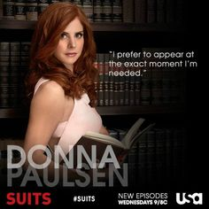 Donna Paulsen from Suits as an example of a virtual assistant