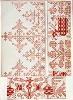It Was a Work of Craft (Russian Embroidery booklet from part Russian Embroidery, Blackwork Embroidery, Embroidery Letters, Embroidery Stitches, Hand Embroidery, Embroidery Designs, Cross Stitch Bird, Cross Stitching, Old Symbols
