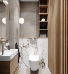 WC design with wood and marble wood wood look marchor with and WCDesign Toilet design with wood and marble Wood holzoptik Marble With and WCDesign Best Bathroom Designs, Bathroom Design Luxury, Modern Bathroom Design, Toilette Design, Bad Inspiration, Bathroom Inspiration, Wood Bathroom, Small Bathroom, Bathroom Mirrors