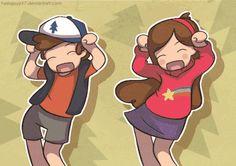 gravity falls anime gift - Buscar con Google