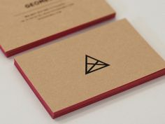 Craft Paper Business Cards