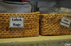 Get your lunch organized for school