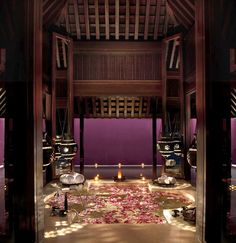 Royal Villa Spa @ Ritz-Carlton Reserve Phulay Bay in Krabi, Thailand. Oh the memories! I love this place