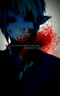 You've met with a terrible fate, haven't you?, text, quote, Ben Drowned; Creepypasta