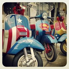 SHSC - Super Hero Scooter Club...the First Avenger....always