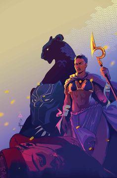 Afua Richardson: black Panther World of Wakanda Issue 4 by Afua Richardson