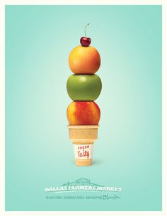 Farmers Market Fast Foods Campaign - The St. Louis Egotist
