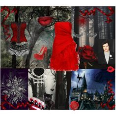His Lady in red ... :3 :* by katie-styles4u on Polyvore featuring AFTERSHOCK, Hue, Agent Provocateur, Boohoo, Finesque, Napoleon Perdis, Sirius, OneDirection and directioner