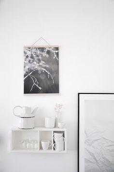 Lámina decorativa gotas de rocío A3 - ilustraciones y decoración para el hogar - en DaWanda.es